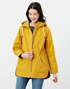 Joules Shoreside Coastal Waterproof Jacket Antique Gold