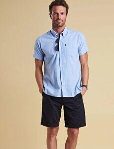 Barbour Short Sleeved Oxford Shirt Blue