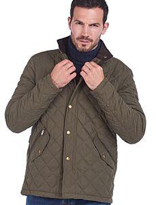 Barbour Shoveler Quilt Jacket Army Green