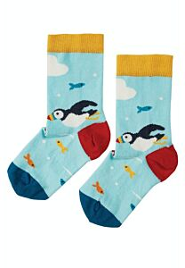Frugi The National Trust Perfect Pair Socks Puffin