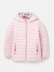 Joules Kinnaird Packable Padded Jacket Soft Pink