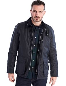 Barbour Strathyre Wax Jacket Navy