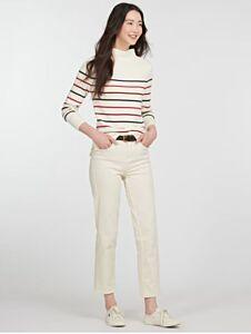 Barbour Woman's Stripe Guernsey Knit Jumper Multi