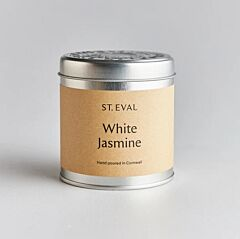 St Eval Scented Tin Candle White Jasmine