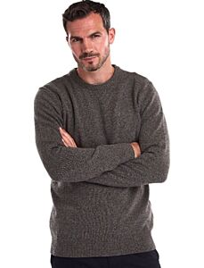 Barbour Tisbury Crew Neck Jumper Fog