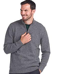 Barbour Tisbury Half Zip Sweater Grey