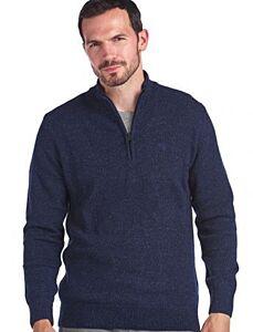 Barbour Tisbury Half Zip Sweater Navy
