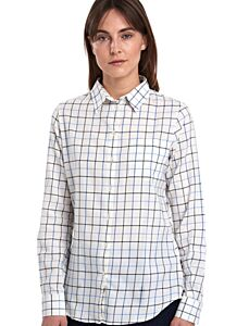Barbour Triplebar Check Shirt Oxford Blue Check