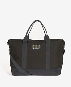 Barbour Highfield Canvas Holdall Navy