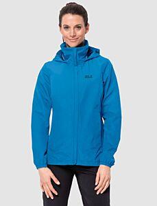 Jack Wolfskin Women's Stormy Point Jacket Brilliant Blue