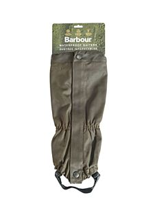 Barbour Wax Cotton Gaiters Olive