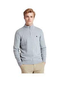 Timberland Williams River Half Zip Sweater Dark Grey Heather