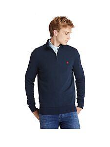 Timberland Williams River Half Zip Sweater Dark Sapphire