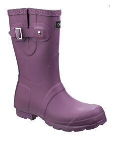 Cotswold Windsor Short Wellingtons Purple