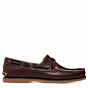Timberland Classic Boat 2-Eye Shoes Root Beer