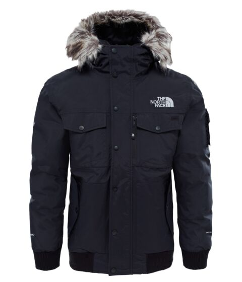 The North Face Mens Gotham Jacket Black/High Rise Grey