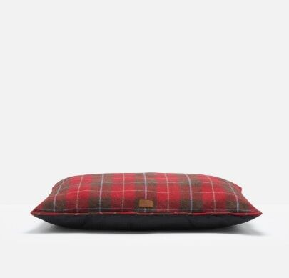 Joules Restwell Pet Mattress Red Country Tweed