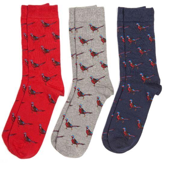 Barbour Pheasant Socks Giftbox