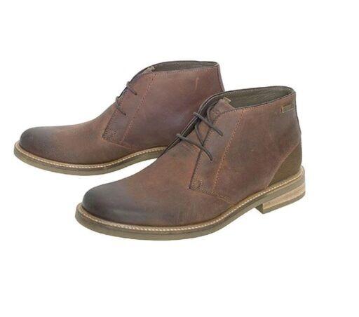 Barbour Readhead Chukka Boots Tan