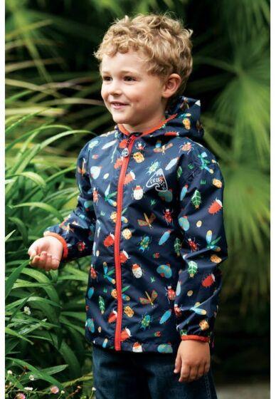 Frugi Rain or Shine Jacket Bugs