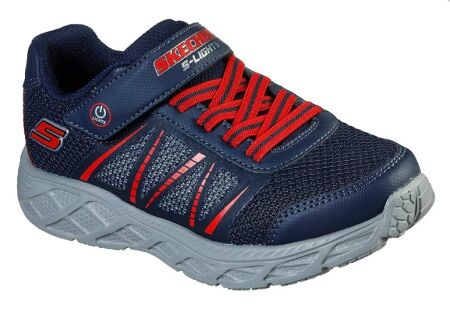 Skechers Dynamic Flash Navy Red
