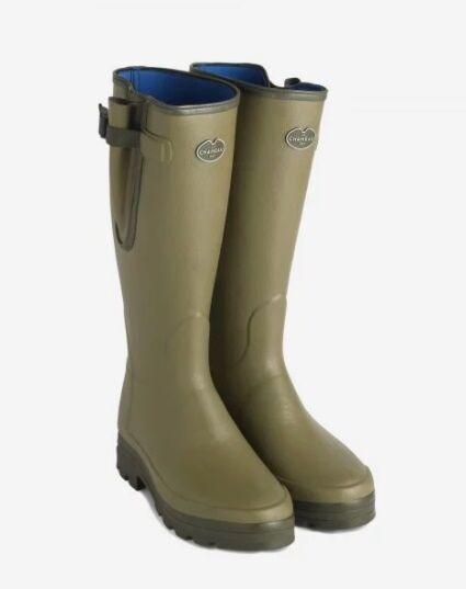 Le Chameau Men's Vierzonord Neoprene Boots Vert