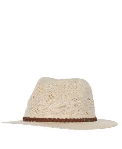 Barbour Flowerdale Trilby Hat Cream