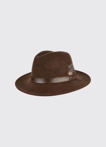 Dubarry Gallagher Felt Hat Bourbon