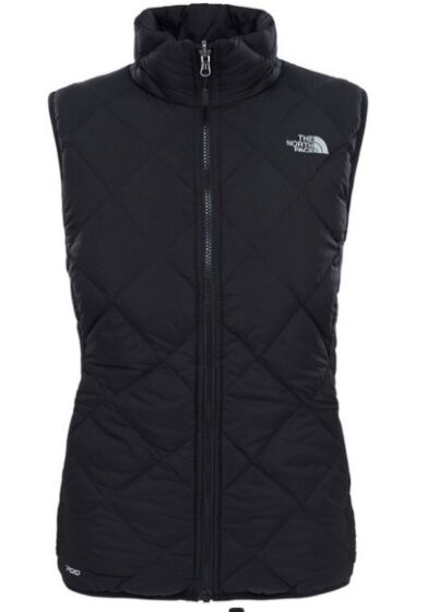 The North Face Women's Zip In Reversible Down Vest Black