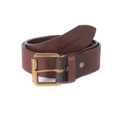 Barbour Contrast Leather Belt