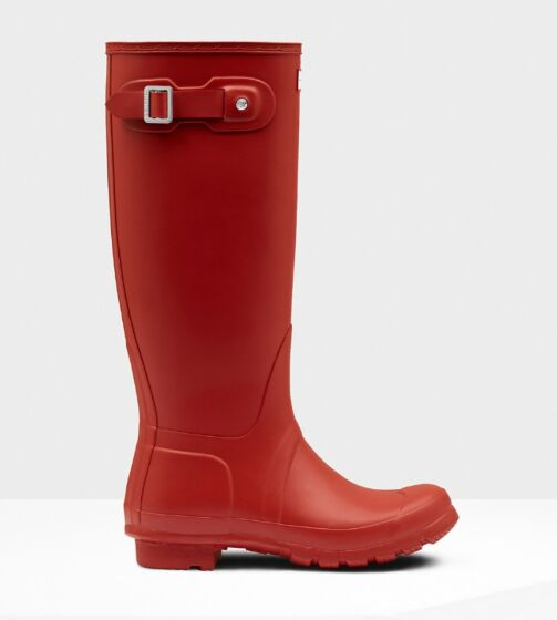 Hunter Original Tall Boot Military Red