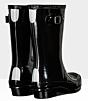 Hunter Kids Original Wellington Boots Gloss Black 9