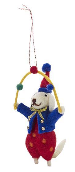 White Stuff Juggling George Hanging Decoration