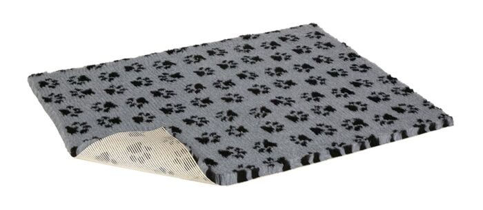 Vet Bedding Grey with Paws