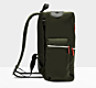 Hunter Original Top Clip Backpack Nylon Dark Olive
