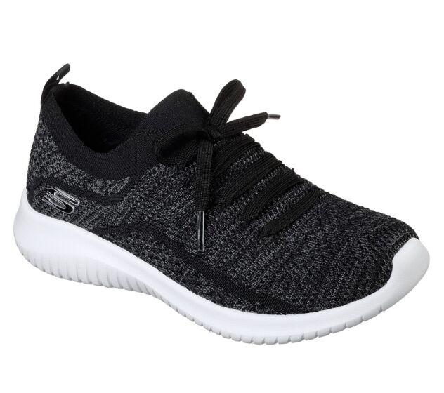Skechers Ultra Flex - Statements Black/Grey