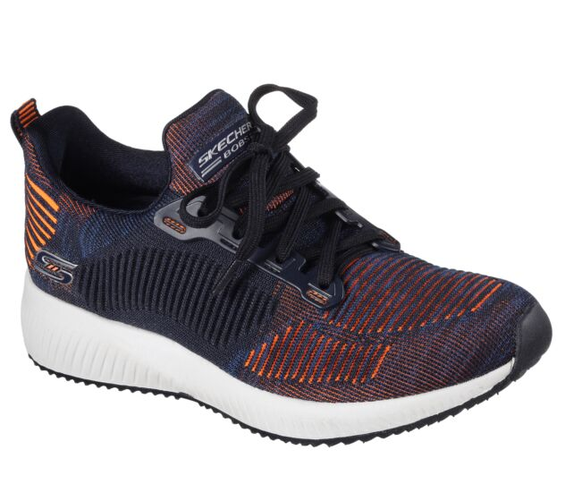Skechers BOBS Squad Navy/Orange
