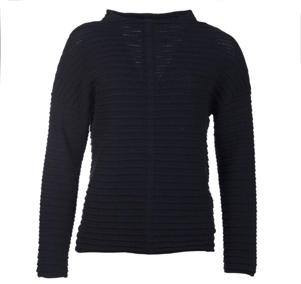 Barbour Linton Knit Sweater Navy