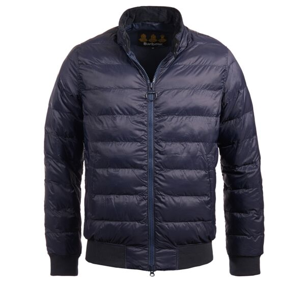 Barbour Aviso Quilted Jacket Navy