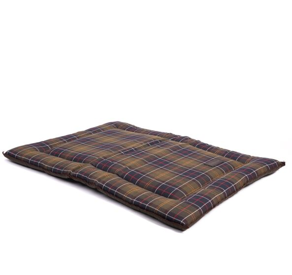 Barbour Tartan Flat Dog Pad Classic/Olive