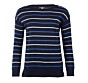Barbour Marloes Knit Jumper Navy Clearance