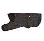 Barbour 2in1 Wax Dog Coat Olive