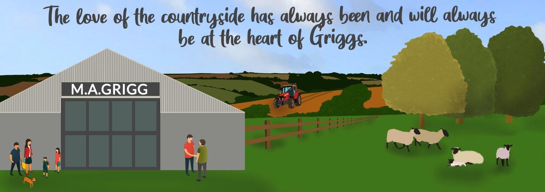 Griggs Illustration Banner